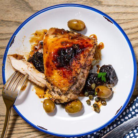 Chicken Marbella - Delish.com