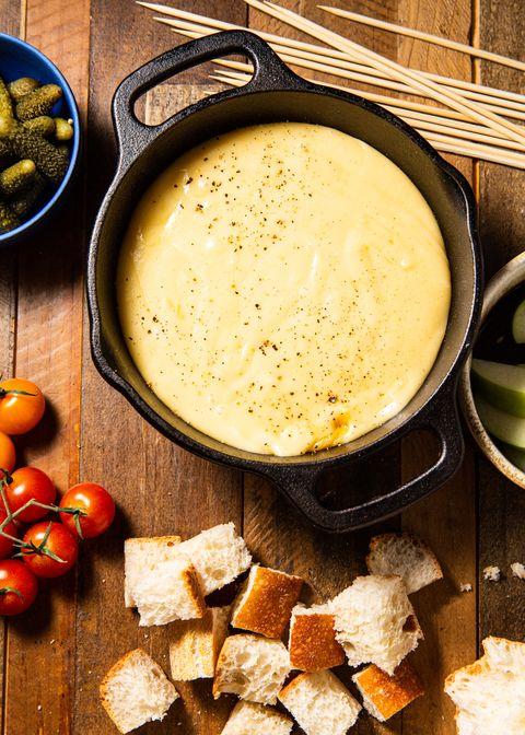 Cheese Fondue - Delish.com