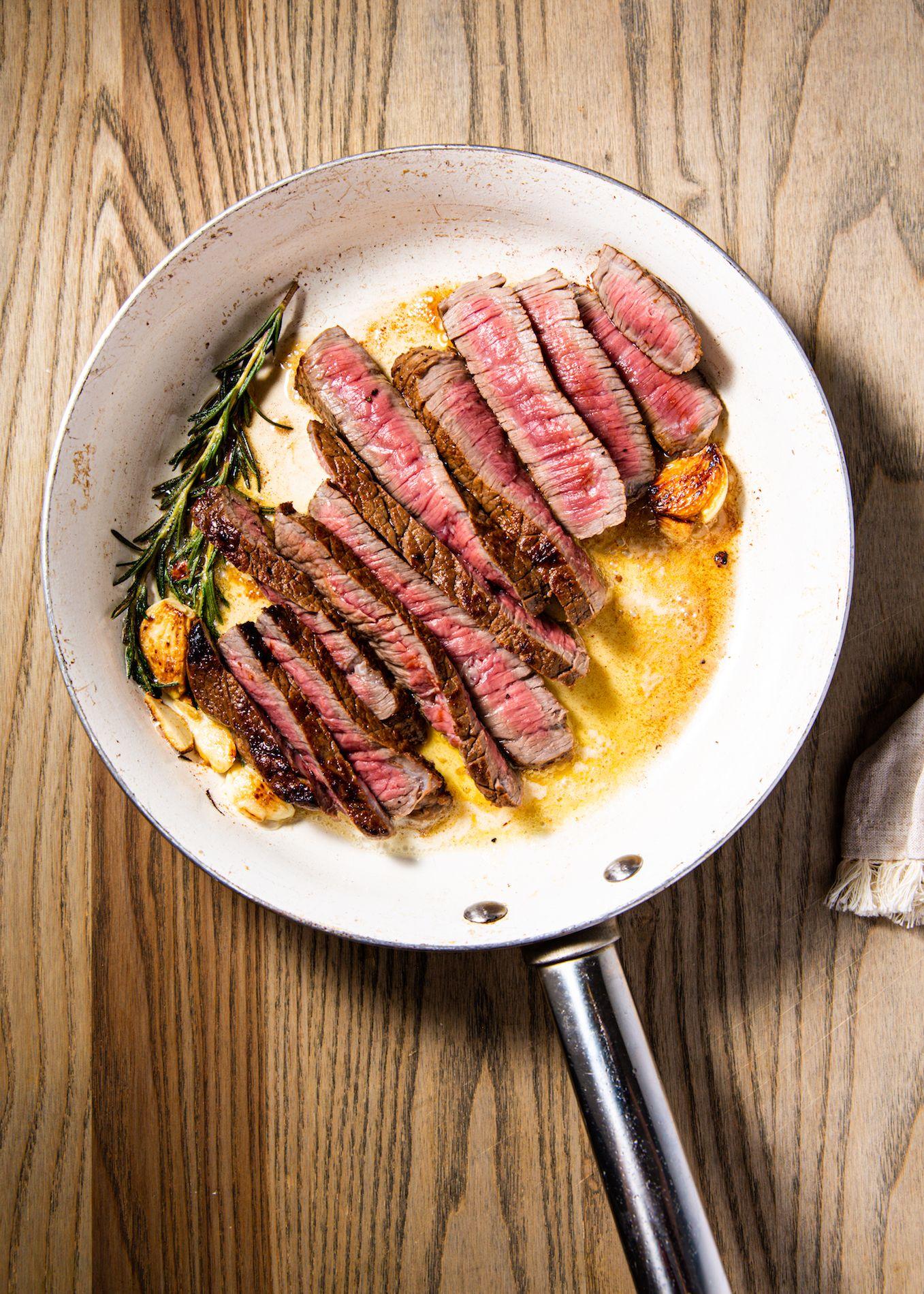 Seared Round Steak
