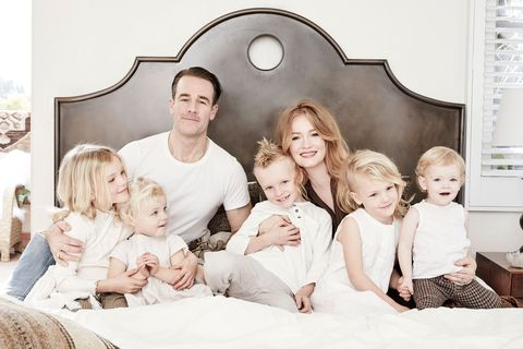 james van der beek and family