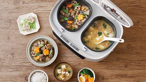 「一次煮4道菜」的 Twin Chef 自動調理鍋5大特點介紹!史上最強懶人煮飯神器誕生!