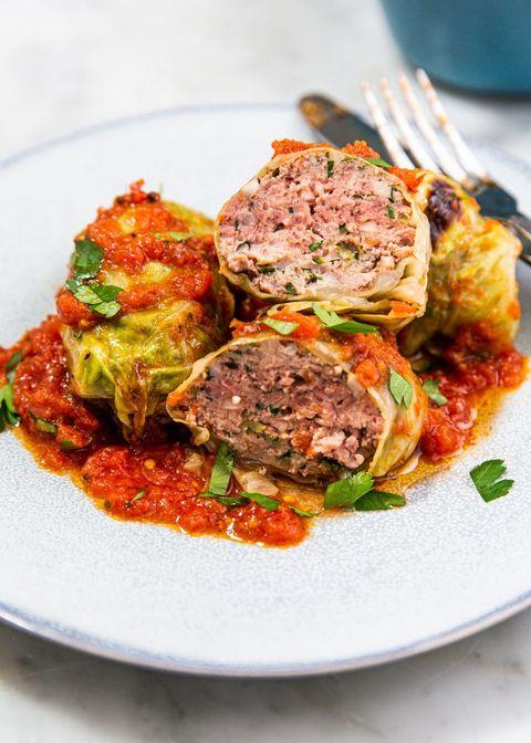 keto stuffed cabbage