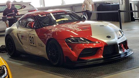 Supra for Michelin Pilot Challenge