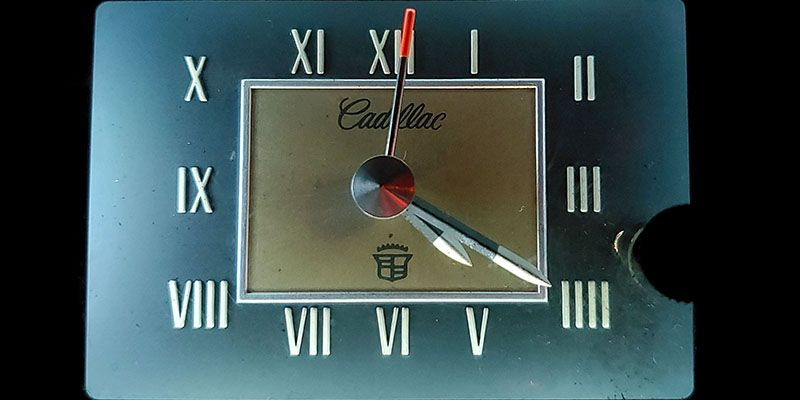 Car Clock of the Week: 1973 Cadillac DeVille Analog
