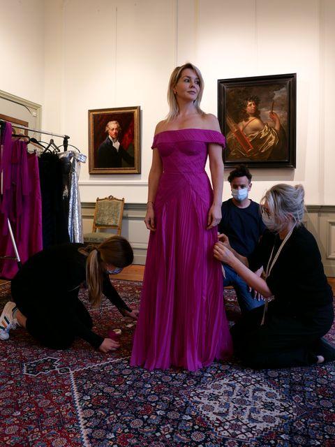 eurovisie songfestival voorbereidingen david laport voor de outfits van chantal janzen en edsilia rombley