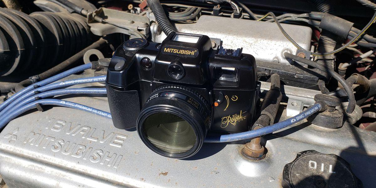 Taiwanese Camera Maker Steals Mitsubishi Name, Camera Forced to Photograph Real Mitsubishis
