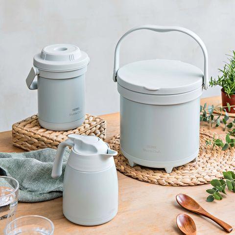 膳魔師推出迷霧綠全系列保溫杯、保溫壺、燜燒罐全都有