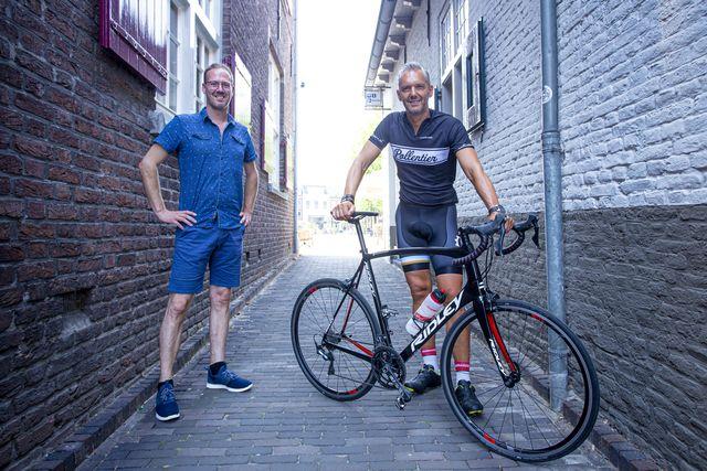ruud van der meijden fietst 1000 kilometer voor het goede doel