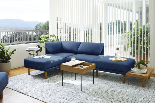 sofa setup