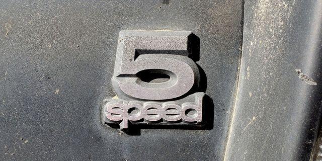 1981 saab 900 turbo 5speed badge