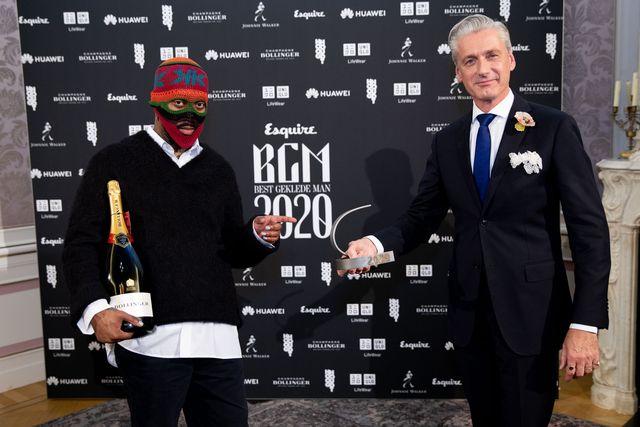 ray fuego paul rem best geklede man 2020 winnaar