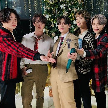 bts防彈少年團演唱6首聖誕歌曲