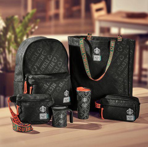 星巴克攜手加拿大休閒背包品牌HERSCHEL SUPPLY推出聯名星巴克周邊商品
