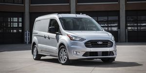 2020 Ford Transit Connect front