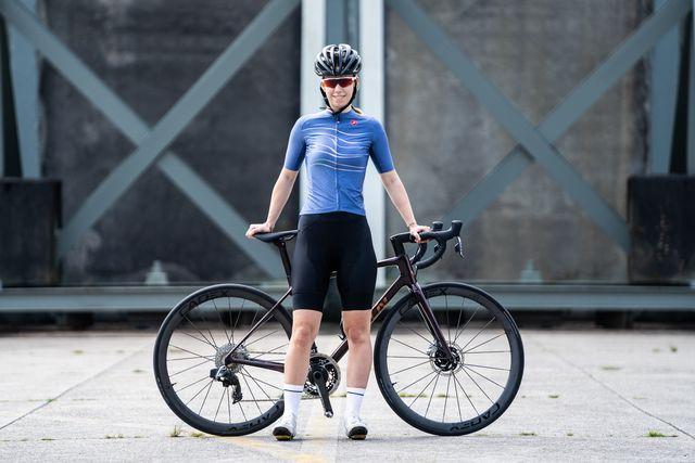 castelli aero race fietsshirt en free aero race fietsbroek