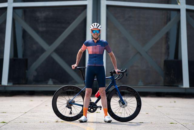 santini tono freccia wielershirt tono dinamo fietsbroek
