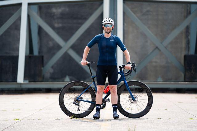 craft pro nano wielershirt en advanced aero fietsbroek