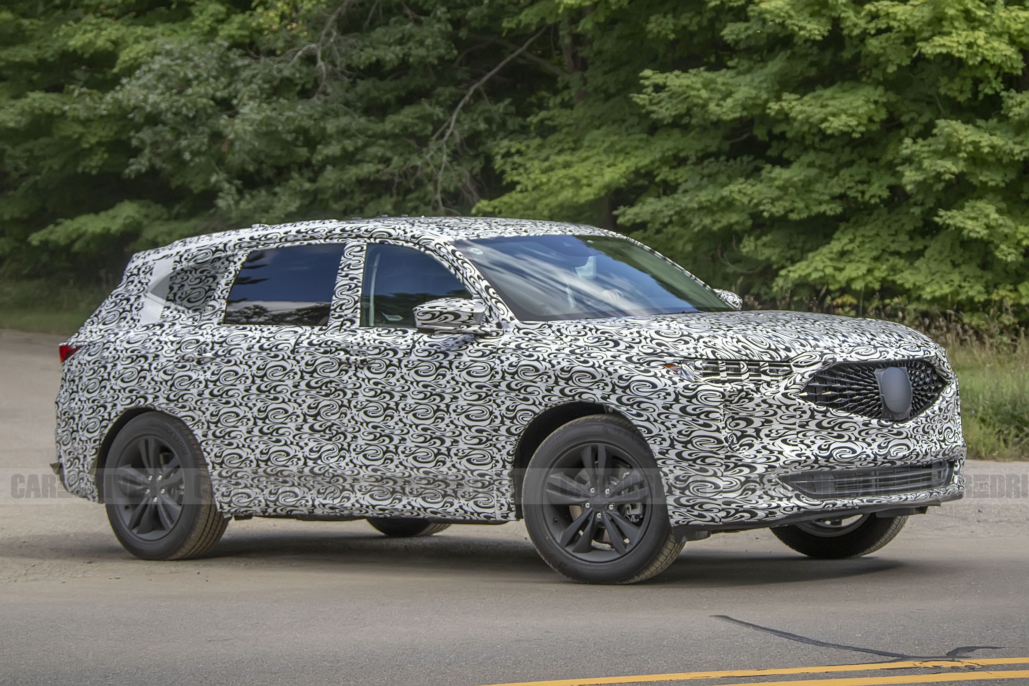 5 Acura MDX Shows Off Its TLX-Inspired Styling