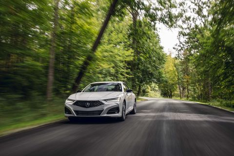 2021 acura tlx 20t front