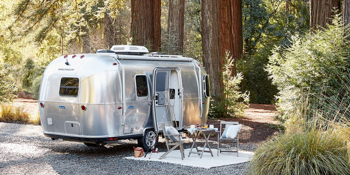 Airstream Partners with Pottery Barn on Luxury Camper Decor