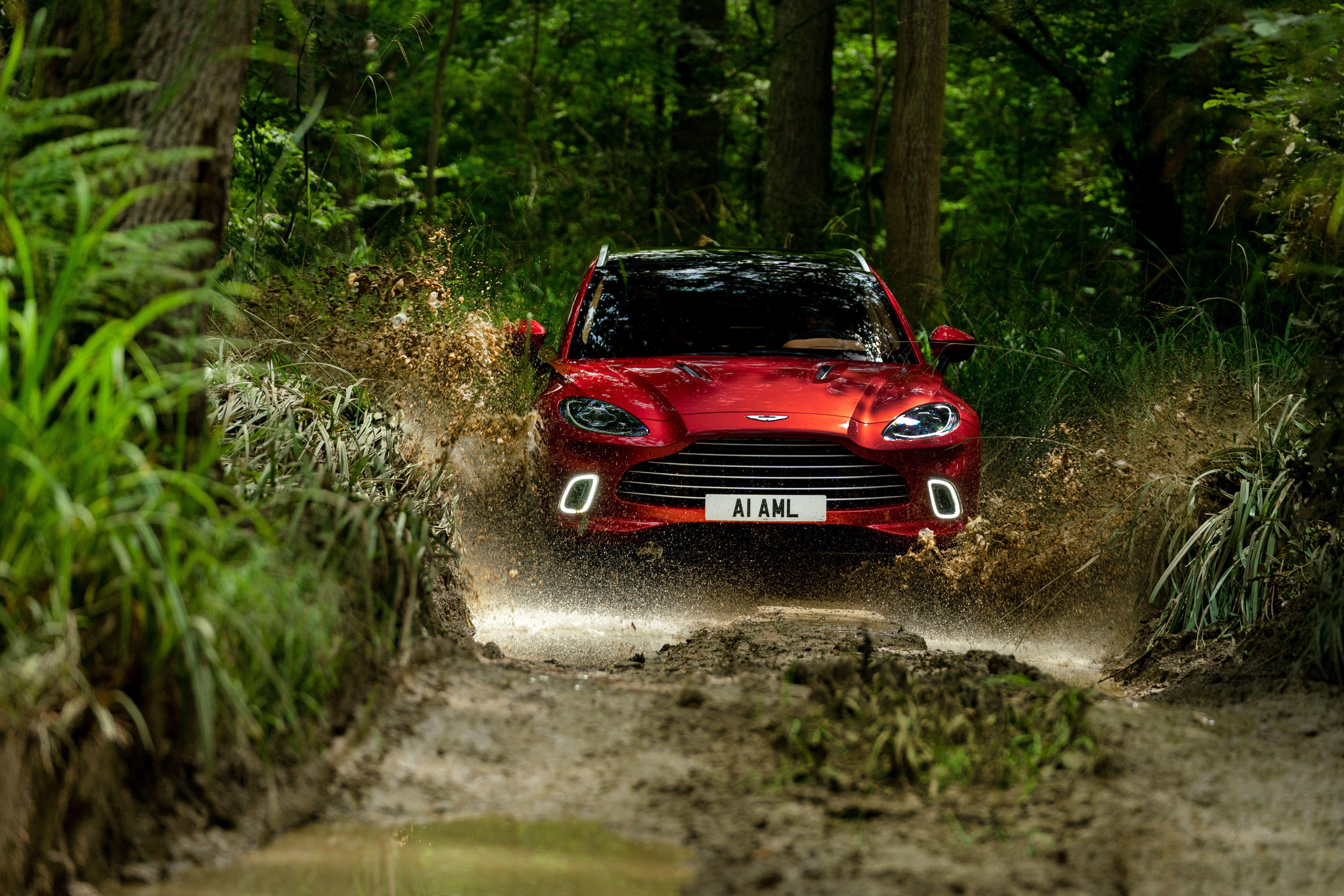 2021 Aston Martin Dbx Shines When Driven Hard