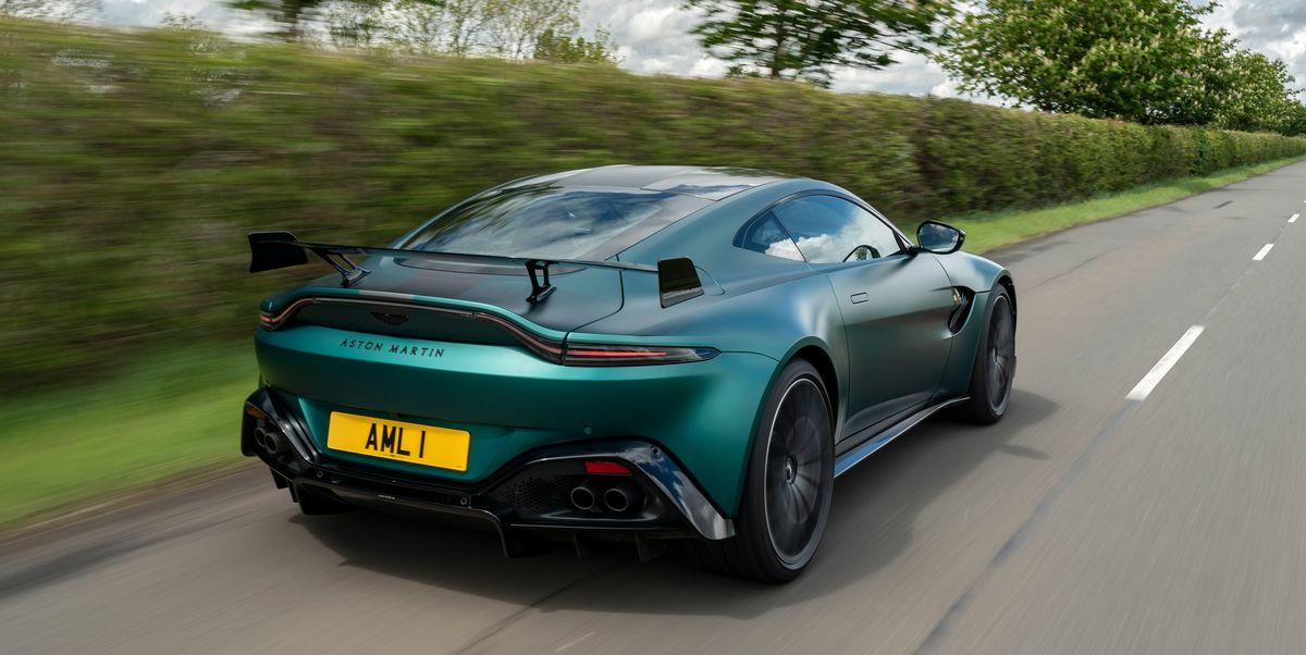 View Photos of the 2021 Aston Martin Vantage F1 Edition