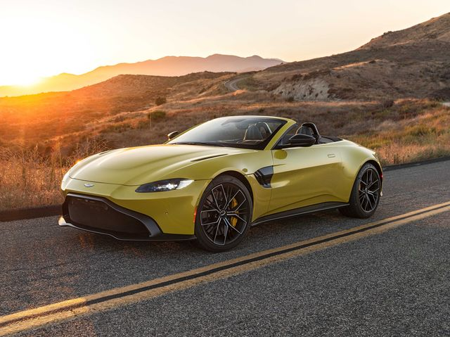 2021 Aston Martin Vantage Review Pricing And Specs