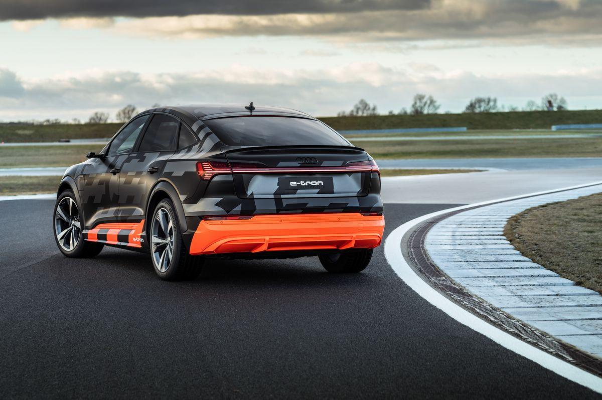 All The Right Moves 2021 Audi E Tron S Sportback
