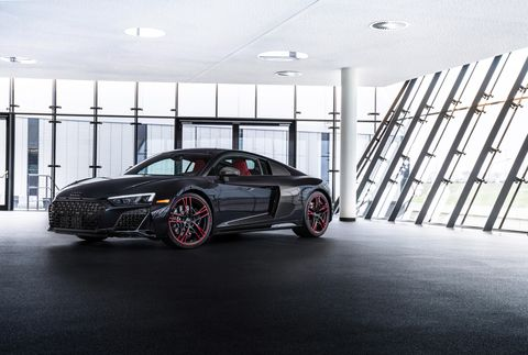 2021 audi r8 black panther edition