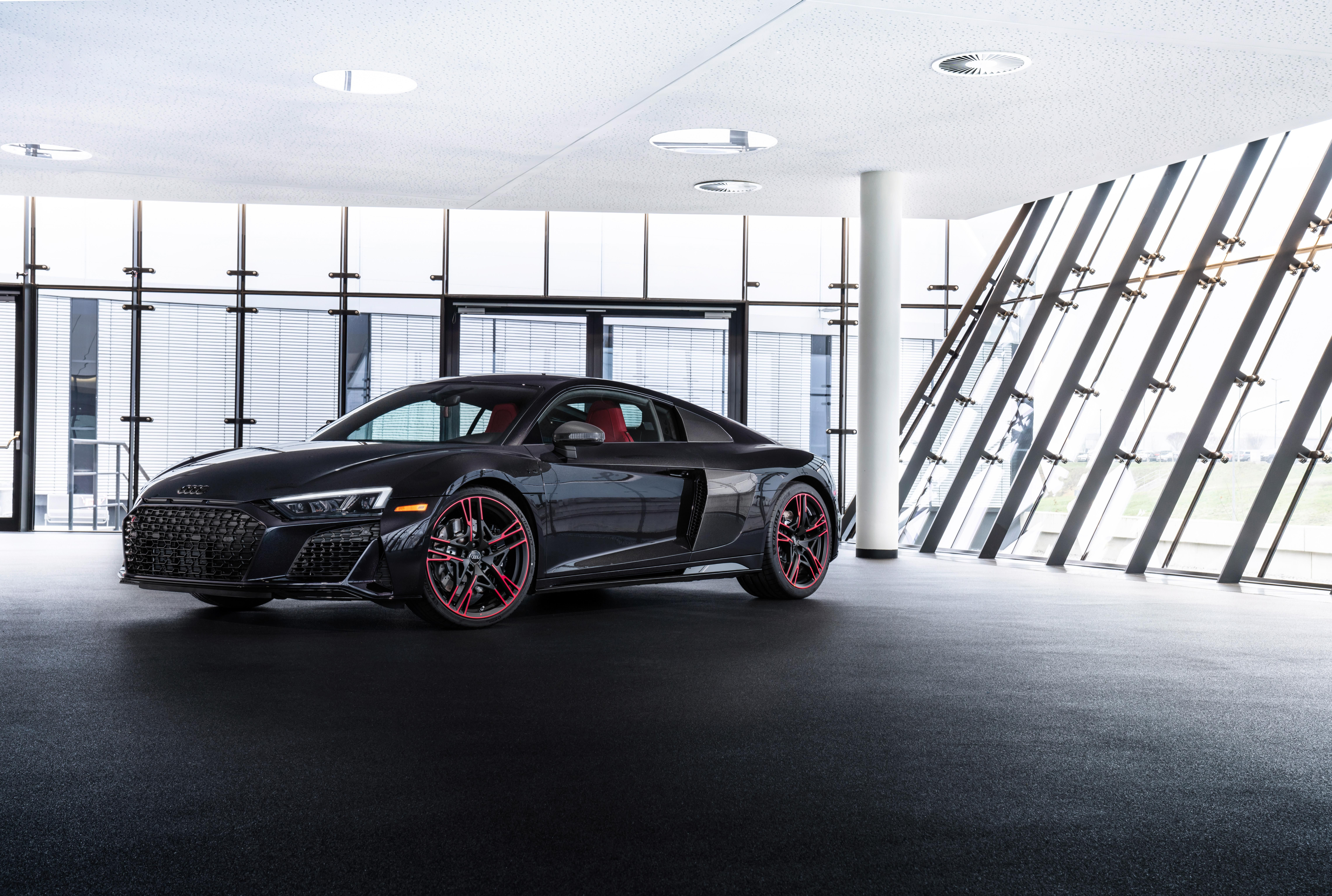 2021 Audi R8 Panther Edition Has Red Wheels Limited To 30 Cars