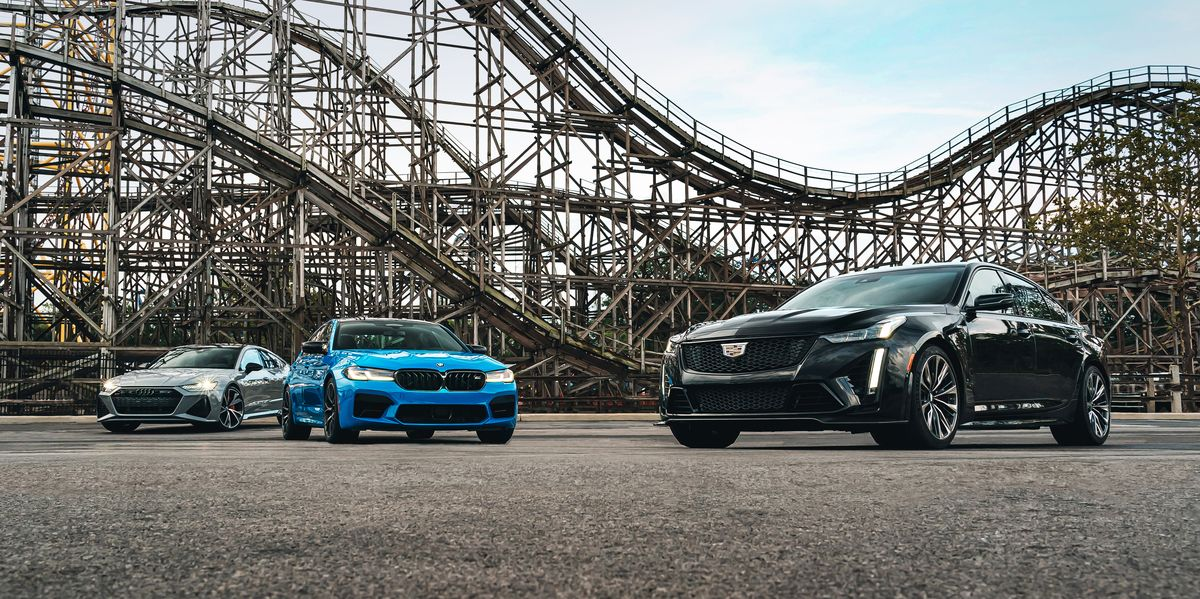 Comparison Test: 2022 Cadillac CT5-V Blackwing vs. 2021 Audi RS7 vs. 2022 BMW M5 Competition