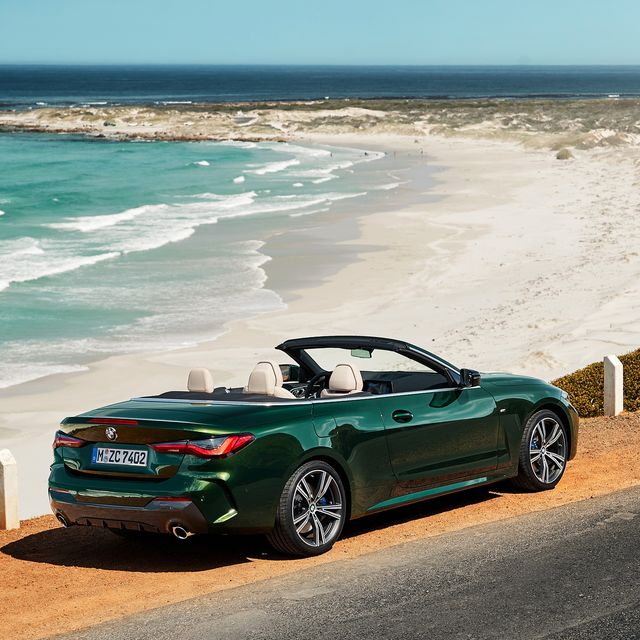 2021 Bmw 4 Series Convertible Gets Big Nose And Awesome Soft Top