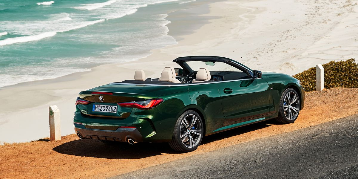 This convertible comes with a celebrity feeling of freedom, perfect for a drive by the ocean.