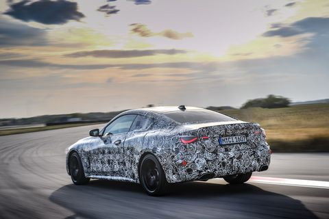 2021 bmw 4 series coupe prototype