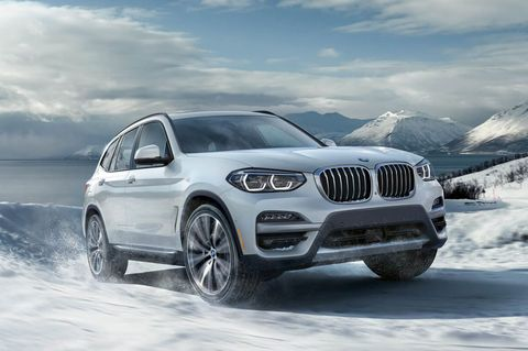 2021 bmw x3 front