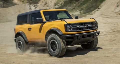 ford bronco and bronco sport