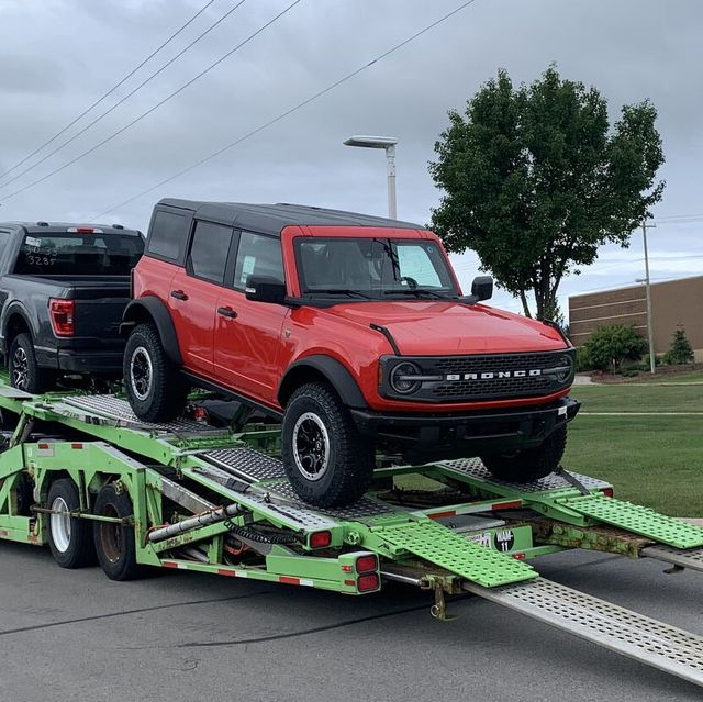 2021 ford bronco delivery