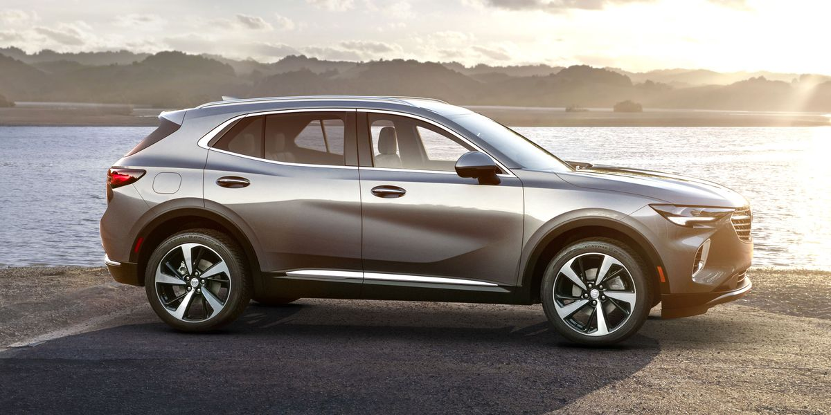 New 2021 Buick Envision's Base Price Drops $1700