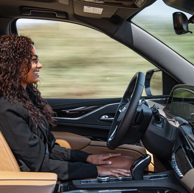 unlike other driver assistance systems, super cruise in the 2021 cadillac escalade utilizes two advanced technology systems – a driver attention system and precision lidar map data, to provide added confidence for the driver