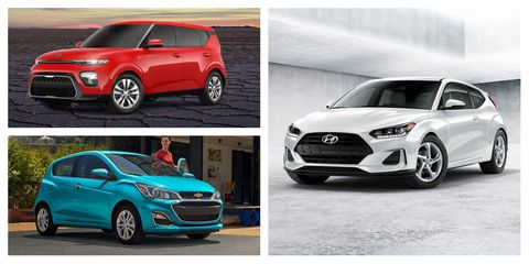 2021 cheapest new cars