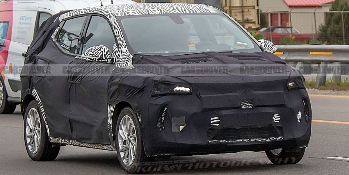 2021 Chevrolet Bolt EUV Electric Crossover Spied