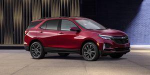 2021 Chevrolet Equinox front