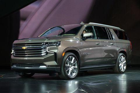 Land vehicle, Vehicle, Car, Auto show, Motor vehicle, Sport utility vehicle, Full-size car, Chevrolet, Automotive design, Family car,