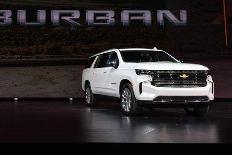 Land vehicle, Vehicle, Car, Sport utility vehicle, Chevrolet suburban, Chevrolet, Chevrolet tahoe, Automotive design, Full-size car, Automotive tire,
