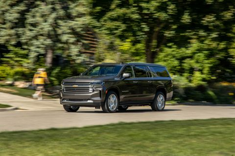 2021 chevrolet suburban 4wd high country front