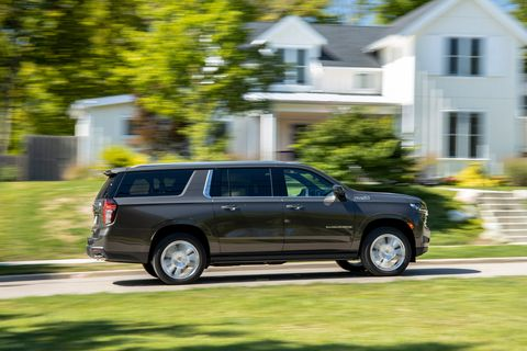 2021 chevrolet suburban 4wd high country