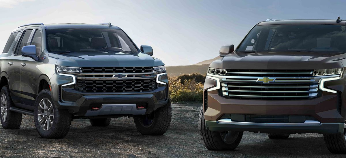 All-New 2021 Chevy Suburban and Tahoe Get Roomier, Add a ...