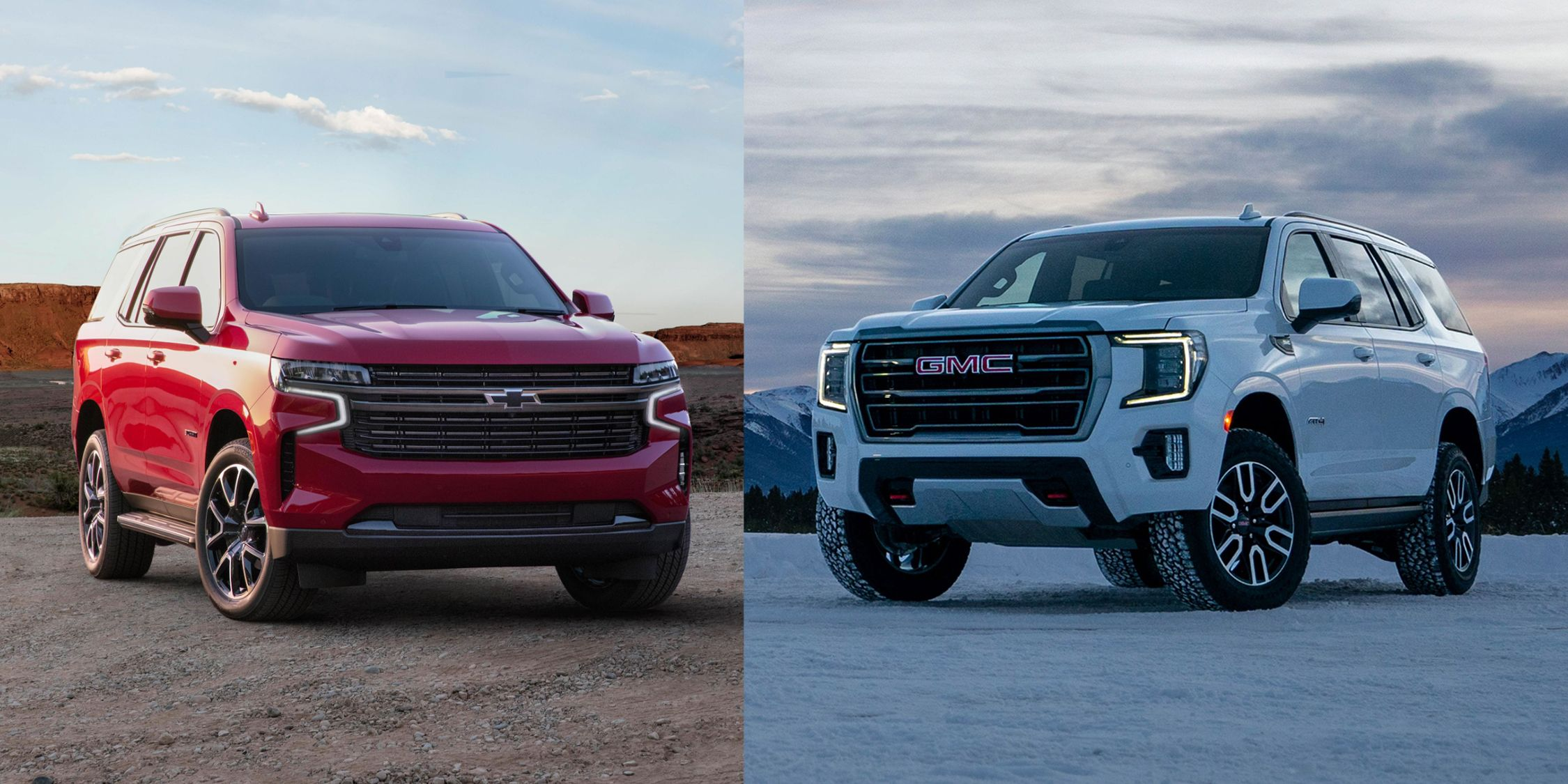 How The 2021 Chevy Tahoe And Gmc Yukon Are The Same And Different