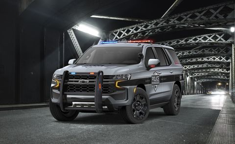 2021 Chevrolet Tahoe PPV, SSV Coming Soon as Police Vehicles