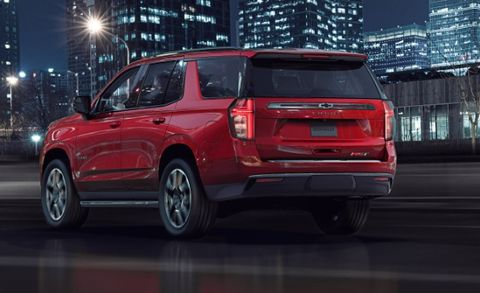How the 2021 Chevy Tahoe and GMC Yukon Are the Same—and ...